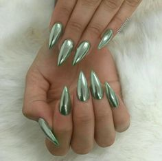"""Nails, Nails, Nails — He's done it again y'all…""""Emerald Chrome"""""""