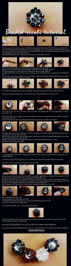 Rivoli pendant tutorial by C0rO9.deviantart.com on @deviantART