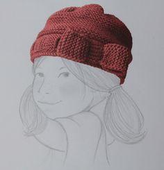 Elsa est un joli bonnet de fille, au point mousse, «presque» tout simple, avec un noeud, tout spécialement créé pour une petite fille du même nom qui voue une passion pour l…