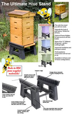 BEES - Gorgeous Set up for keeping your Bee Hives (Dunway Enterprises)…