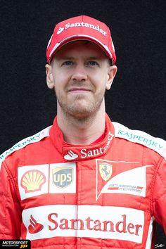 Formel 1 2015, Australien GP, Melbourne, Sebastian Vettel, Ferrari, Bild: Sutton