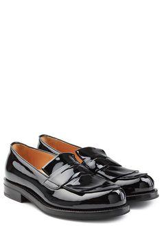 #Churchs #Loafers aus #Leder #, #Schwarz für #Damen Loafers von Church´s aus…