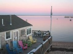 A hidden gem directly on the beach at Poor Richard's Landing in Provincetown, MA