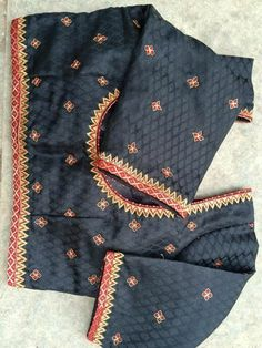 Maggam Work Designs, Designer Blouse Patterns, Blouse Models, Blouse Neck Designs, Work Blouse, Indian Designer Wear, Lace Sleeves, Clothes For Women, Sarees
