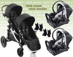Baby Jogger City Select + Maxi Cosi Capsules Bundle - Buy Online Australia…