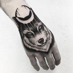 Lobo para @rostyle_tattoo Gracias por la confianza!!
