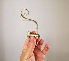 Brass train sculpture tiny brass train locomotive by ArktosArt