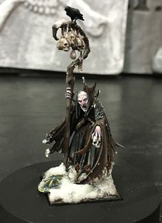 Vampire Counts Necromancer #vc #vampirecounts #necormancer #whfb #warhammer #gameworkshop #wellofeternity #aos #ageofsigmar