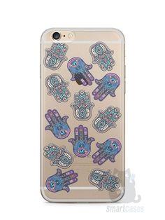 Capa Iphone 6/S Plus Mãozinhas Hamsá - SmartCases - Acessórios para celulares e tablets :)