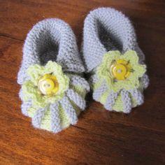 Not another blog...: Vauvan tossut - ohje