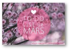 ✎ Mes to-do lists - (page 2) - {astuces} ORGANISATION maison