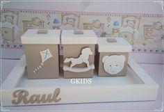 Kit Higiene Urso e Brinquedos - REF - 1334