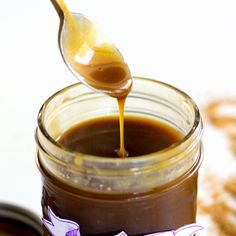 This dairy-free, vegan caramel sauce is full flavored & quite versatile. It's been successfully tested with brown sugar, Sucanat & coconut sugar.