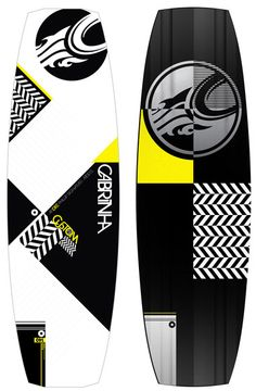 The graphics on the 2012 Cabrinha Custom board are sick!