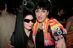 Diane Pernet & Rossy De Palma