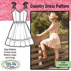 COUNTRY DRESS PATTERN