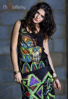 Fashion designer/Artist Erwin Michalec,Test Photoshot Studio MyPhotoBase Photographer Marek Miszczak Model/Mua Alexandra Gorgan