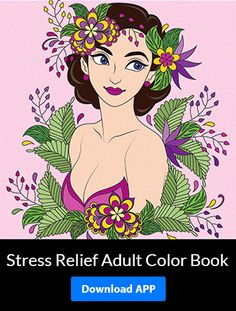 Make #coloring a part of your #life and stay away from #stress and #anxiety.  Download the #free #app from #GooglePlay for #android devices