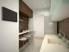 Cozinha + lavanderia