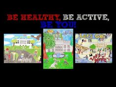 """Be Healthy, Be Active, Be You!"" The 2013 Easter Egg Roll Poster Design Contest"