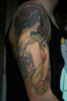 Mucha Half Sleeve, Samantha Smith, Canada