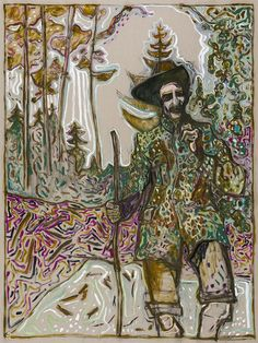 Billy Childish, Edge of the Forest (version y), 2014, 2012
