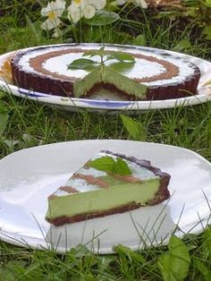 raw mint chocolate tart.. I am making this for Elise on her birthday!!!!