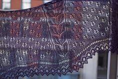 #Ravelry: Bogardus #shawl #pattern by Kirsten Kapur