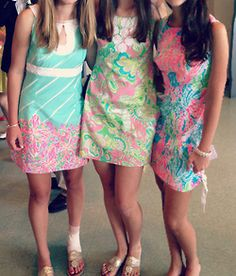.BACK IN THE DAY'''''WE LOVED OUR LILLY DRESS