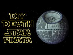 "In this ""Star Wars"" dedicated  tutorial we are going to show how to make a DIY paper-mache ""Death Star"" pinata! #diypinata #starwars #deathstar"