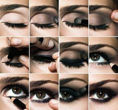 How To Get That Smoke Eye Makeup Look :) ♥