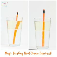 Amaze kids with the magic breaking pencil science experiment. Light refraction has never been this fun. Kids will love trying this activity over and over.