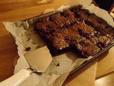 Brownies s malinami - najlepšie brownies na svete!!!!