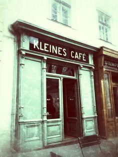 Das kleine Cafe @ Franziskanerplatz Vienna, Neon Signs, Eyes, Human Eye