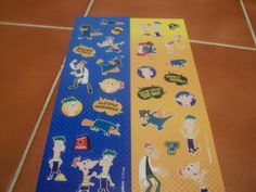 Phines n Ferb Stickers