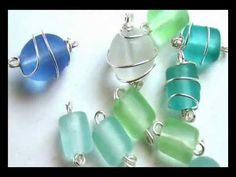 A Quick How To Wire Wrap a Glass Bead - All