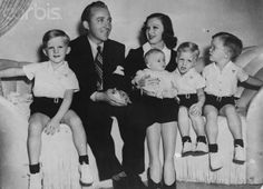 Bing crosby family bob hope and bing crosby on pinterest bing crosby