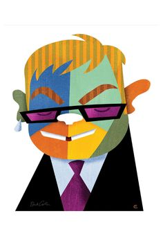David Cowles Elton, Limited Edition, Giclee