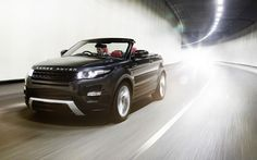 Land Rover - at least once in my life I'd like to own a convertible!!