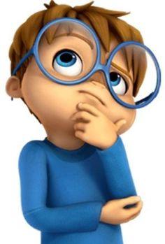 Simon: Alvin and the Chipmunks - Alvin y las Ardillas Baby Cartoon Drawing, Cute Cartoon Boy, Cute Cartoon Pictures, Happy Cartoon, Cartoon Kids, Cartoon Drawings, Funny Pictures, Animated Emoticons, Funny Emoticons