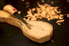 Everyone can, and should carve a wooden spoon. This Instructable will show you how to get started carving your very own spoon and hopefully answer some of the...