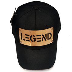 df889b55663 TEAMLIF LEGEND Metal Plate Hat Men Women KPOP Hiphop Running Strap BaseBall  Cap  TEAMLIFE