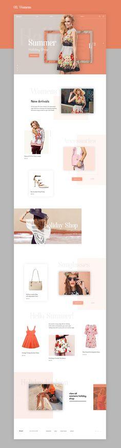 Arsen Fashion Store on Behance