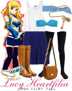 """[Fairy Tail] Lucy Heartfilia - X791"" by chetmanly on Polyvore"
