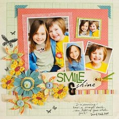 Multiphoto Scrapbook Pages