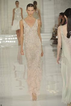 20's inspired Ralph Lauren 2012 dress.