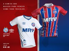 3e4414f2e198f Camisas do EC Bahia 2016-2017 Umbro