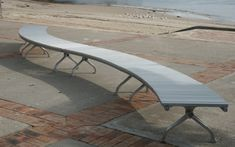 Town & Park SPTP.BSEC.A City Curved Bench