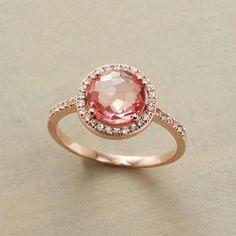 Ring #pink #bling