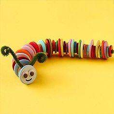 brinquedo feito com botões